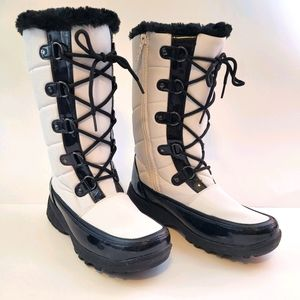 Totes waterproof winter snow & rain boots size 8